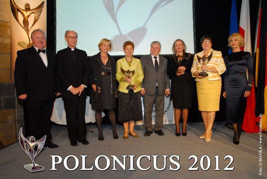 Polonicus 2012 : IM HERZEN EUROPAS GEEHRT – DEUTSCH-POLNISCHER DIALOG: POLONICUS-PREIS IN AACHEN VERLIEHEN