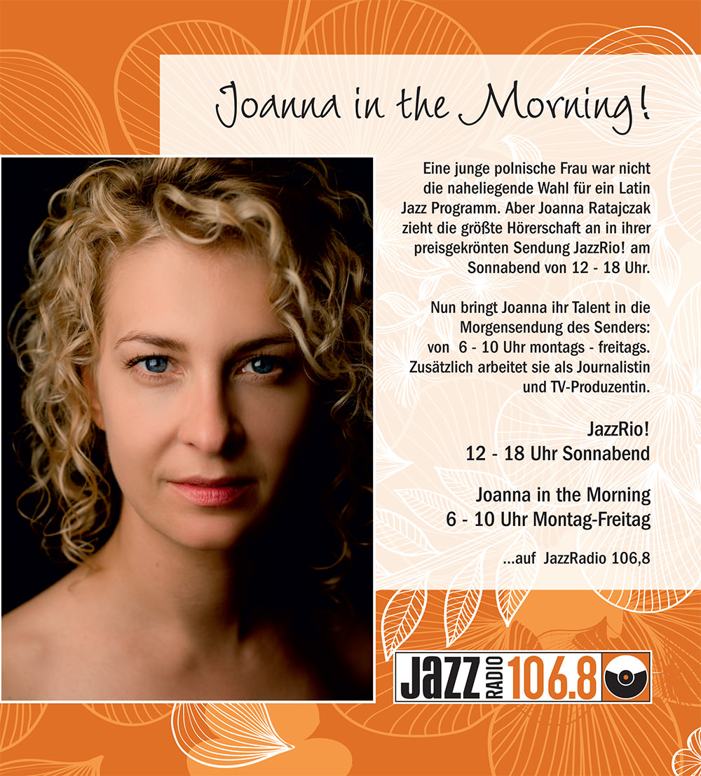 Joanna in the Morning!