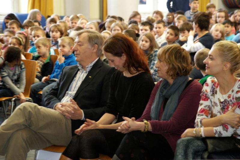 Bundesweiter Vorlesetag in Katharina Heinroth Grundschule!